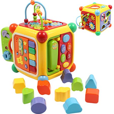 Musical Activity Cube Play Center Learning Educational Early Development Baby Toddler Infant Toys