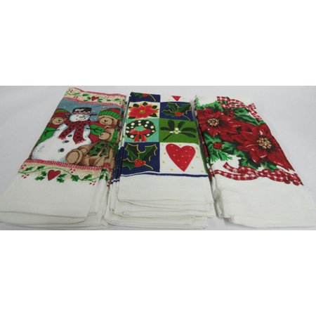 Winter Time 6 Pack Kitchen Towel Set
