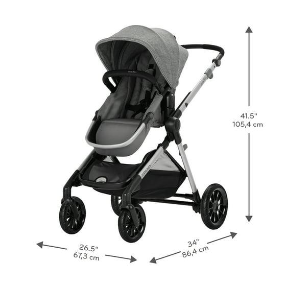 Evenflo Pivot Xpand Modular Stroller Percheron Walmart Com