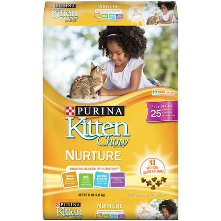 Kitten Chow Nurture Kitten Dry Cat Food, 14 lb