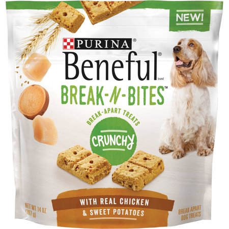 Purina Beneful Break-N-Bites Crunchy With Real Chicken & Swe