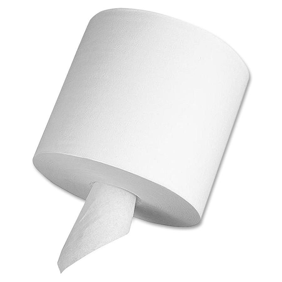 Georgia-Pacific Sofpull Centerpull White Perforated Paper Towels, 28143, 560 Sheets per Roll, 4 Rolls per Case