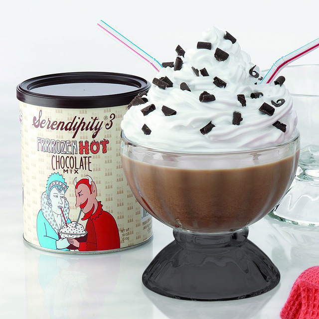 Bottom Black Color Serendipity Frozen Hot Chocolate Party...