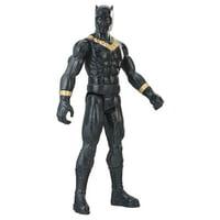 "Black Panther: Erik Killmonger Figure Marvel Action Titan Hero Series 12"" Hasbro"