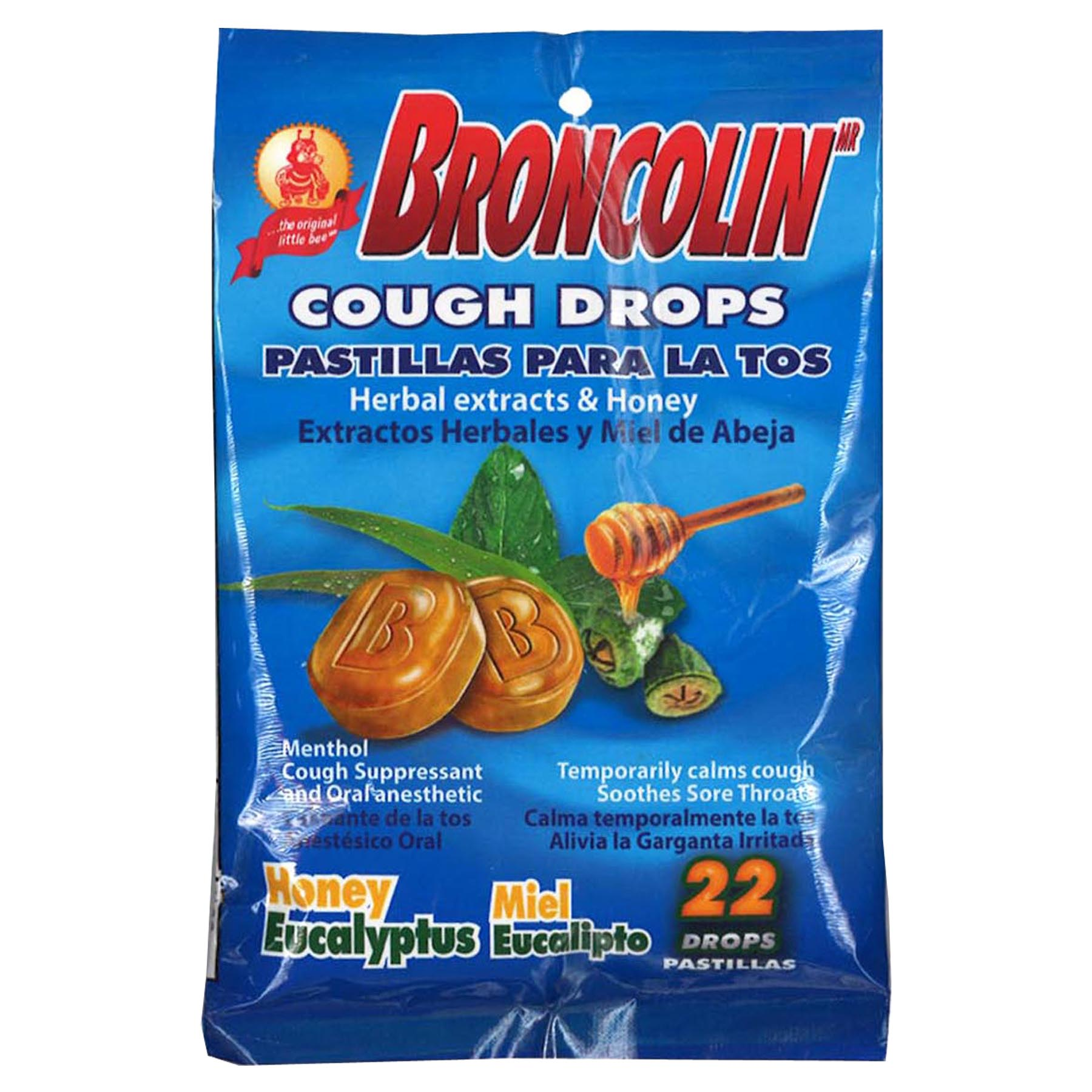 Broncolin Honey-Eucalyptus Bag