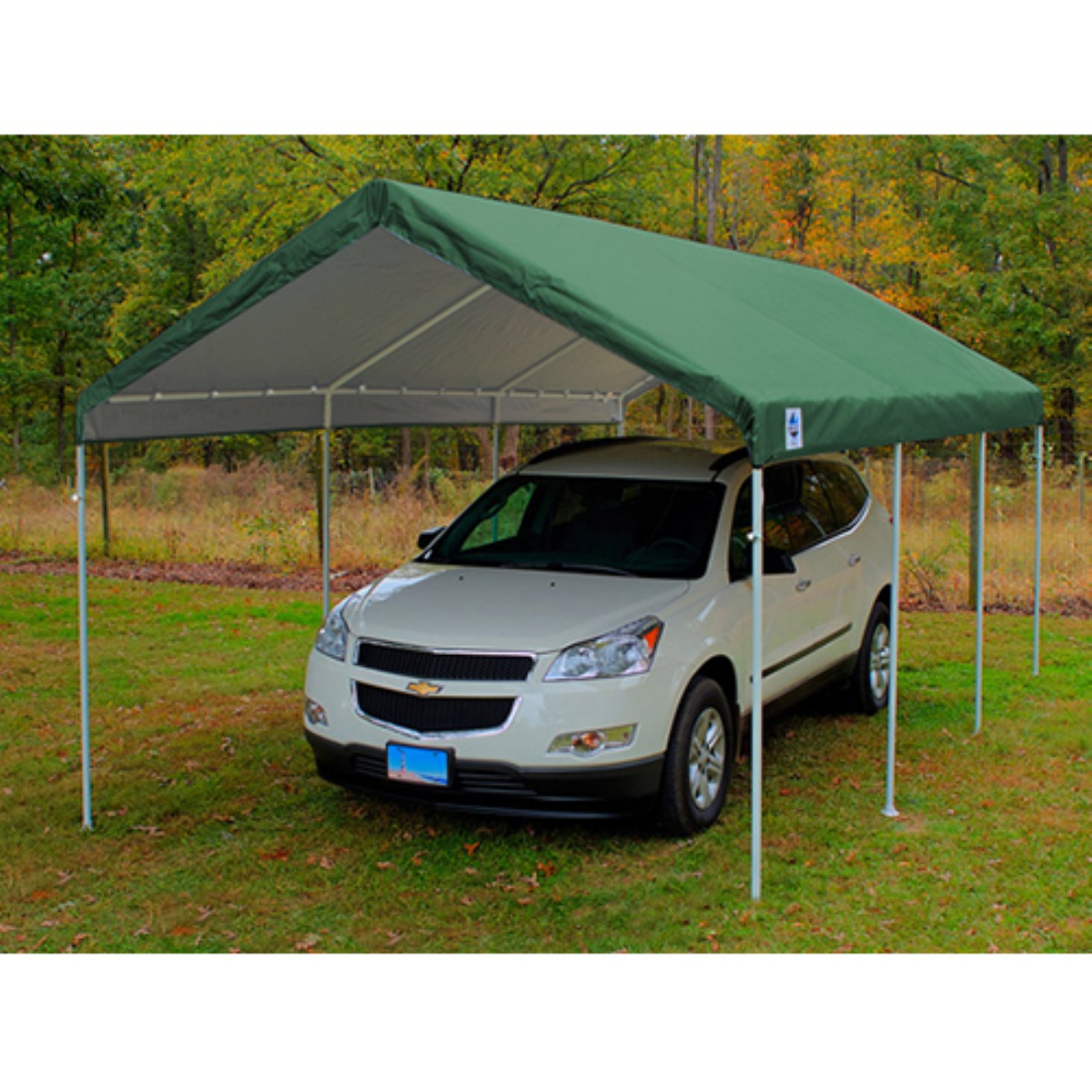 King Canopy 10 x 20 ft. Drawsting Carport Cover