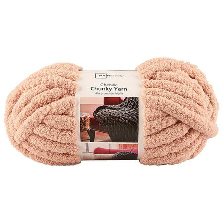 Mainstays Chunky Pale Blush Yarn, 31 7 Yd  - Walmart com