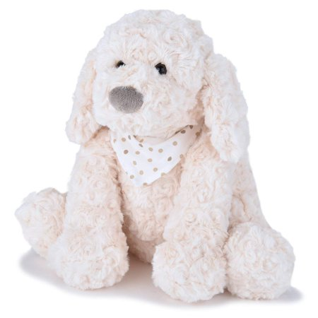 Keiko Rosy Plush Puppy Dog with Scarf, Cream, 10 Inches, ✔ EVERYONE'S BEST FRIEND JOON's Keiko Super Plush Stuffed Dog is looking from a home and is the.., By (Best Toys For Rottweiler Puppies)