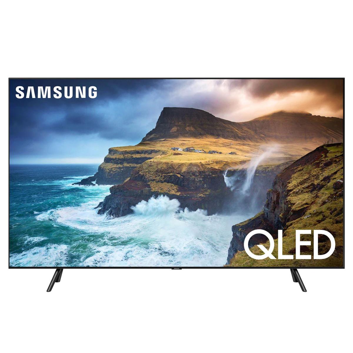 "SAMSUNG 75"" Class 4K Ultra HD (2160P) HDR Smart QLED TV QN75Q70RAFXZA (2019 Model)"
