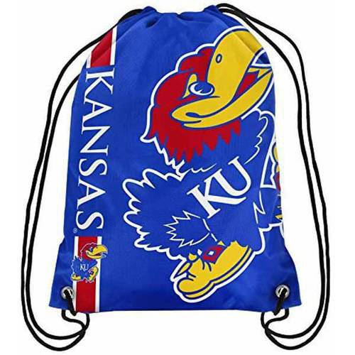 NCAA Kansas Drawstring Backpack
