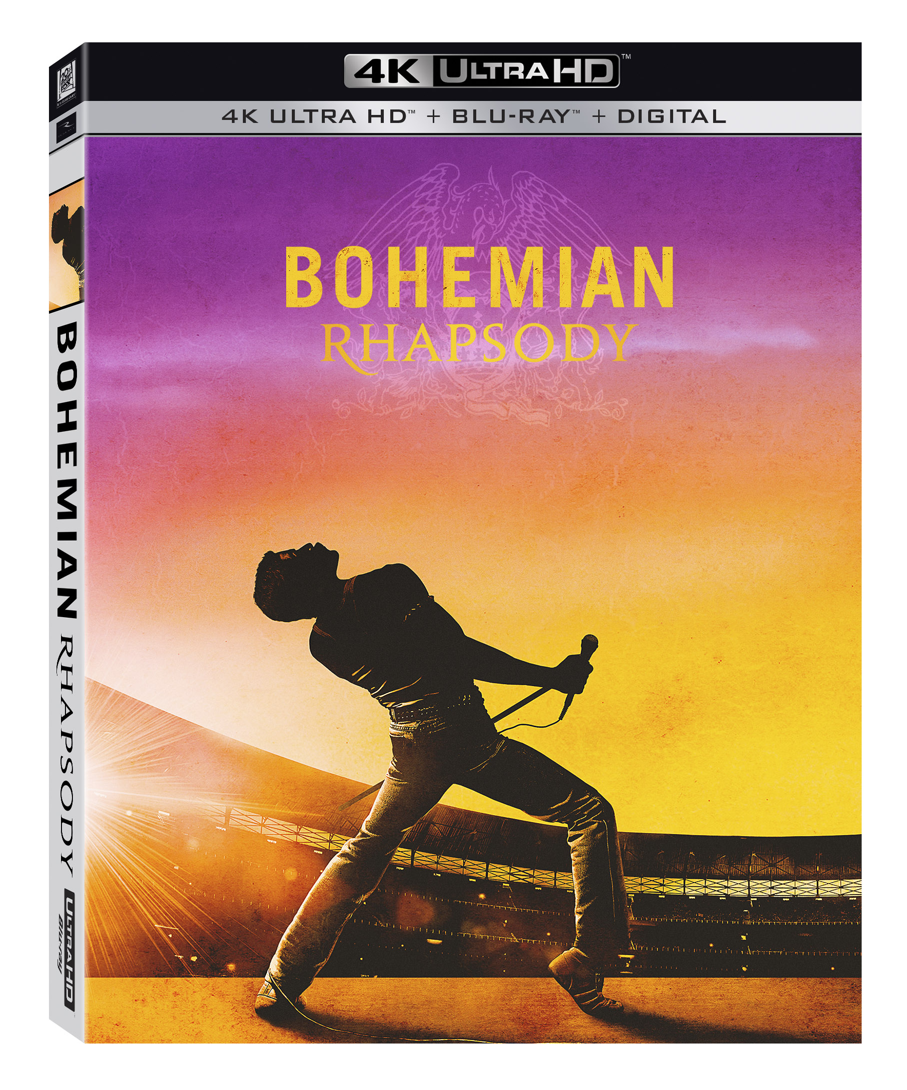 Bohemian Rhapsody 4k Ultra Hd Blu Ray Digital Copy Walmart Com