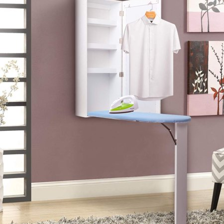 Fabulous Ironing Board Cabinet Wall Mounted With Built In Ironing Board Storage Cabinet Foldable With Mirror Download Free Architecture Designs Scobabritishbridgeorg