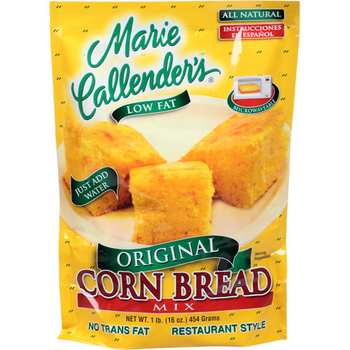 Marie Callender's Original Corn Bread Mix, 16 oz, (Pack of 12)