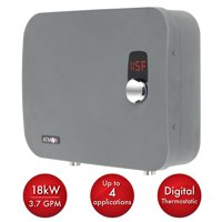 Atmor ThermoPro 18kW/240-Volt 3.7 GPM Stainless Steel Digital Tankless Electric Water Heater with Self-Modulating Technology