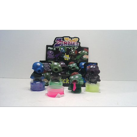 Mud Zombies Toys Suck and Spray Toys Party Favors (12 Pieces)