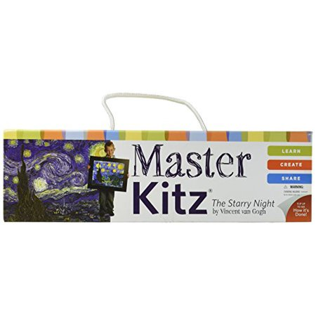Kidzaw Master Kitz The Starry Night by Vincent van Gogh - image 1 de 1