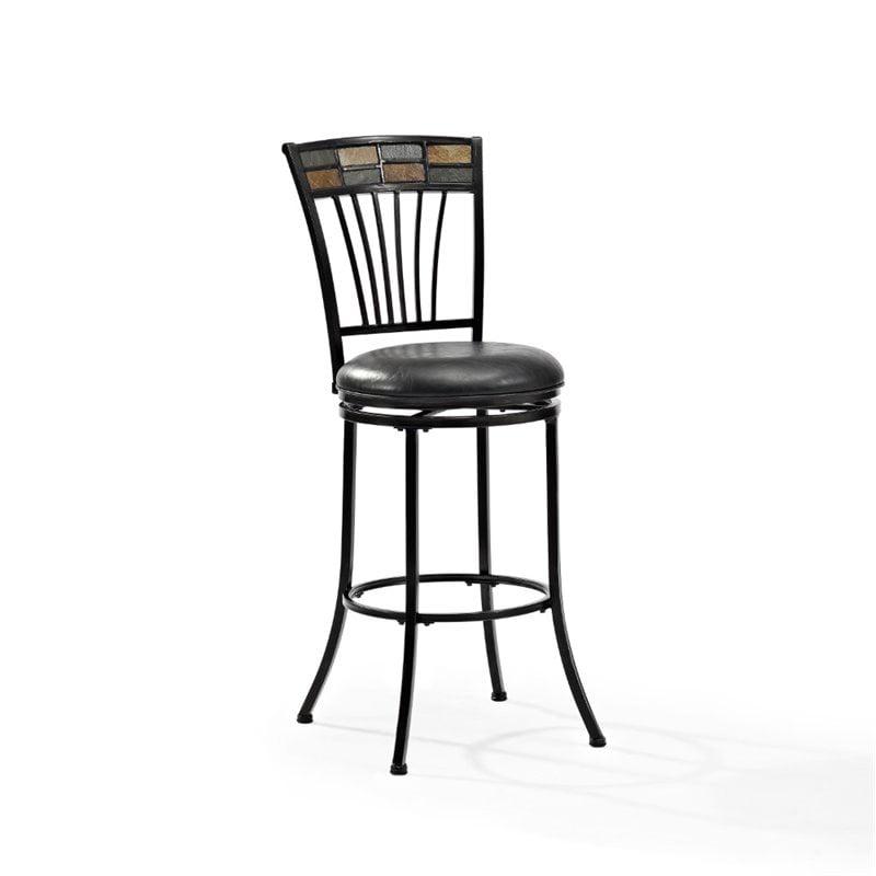Crosley Templeton Swivel Bar Stool in Black Gold - image 6 de 6