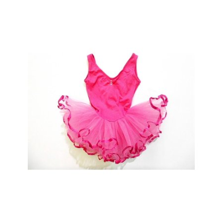 Hot Rhinestone Sleeveless Tutu Ballet Dress Girls M