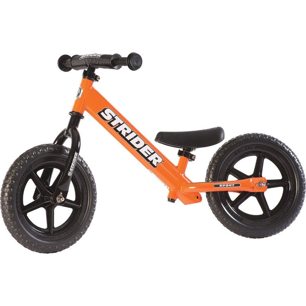 STRIDER 12 Sport Balance Bike, Orange