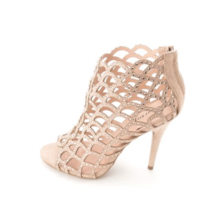 Womens Duran Fabric Open Toe Special Occasion Strappy -