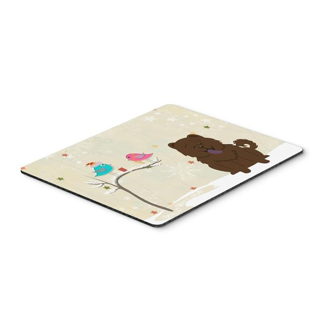 Carolines Treasures BB2613MP Christmas Presents Between Friends Chow Chow Chocolate Mouse Pad, Hot Pad or Trivet - image 1 of 1