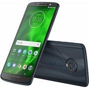 "Motorola Moto G6 (64GB, 4GB RAM) 5.7"" Full HD+ Display, Dual SIM 4G LTE (GSM Only) Factory Unlocked Smartphone - International Model XT1925-13 (Indigo Black)"