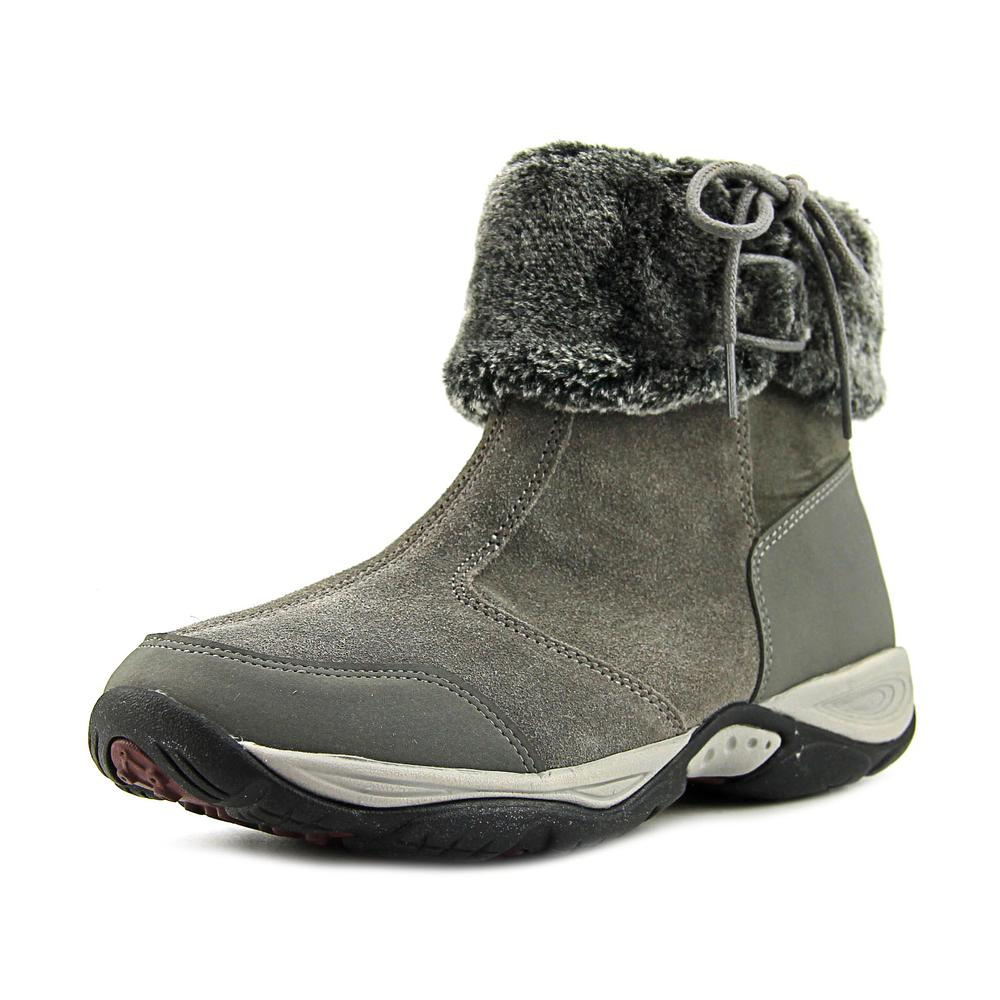 Easy Spirit Elementa W Round Toe Suede Bootie by Easy Spirit