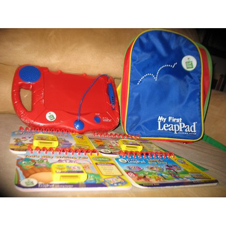 - My First LeapPad Learning System with Bonus 2nd Book Tad's Silly Writing Fair