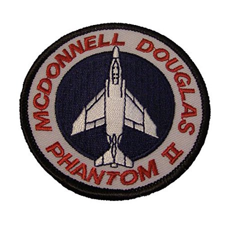 (McDONNELL DOUGLAS PHANTOM II F-4 PATCH - Color - Veteran Owned Business)