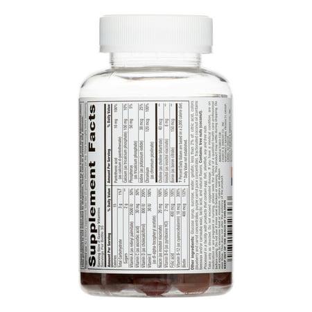 Nutrition Now ™ MultiVites Gummy Vitamines Bouteille 70 ct femmes
