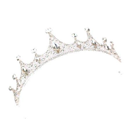 Ustyle Luxury Wedding Bridal Crystal Tiara Headwear Women Prom Rhinestone Tiara Headband Wedding Hair Accessories - image 3 de 9