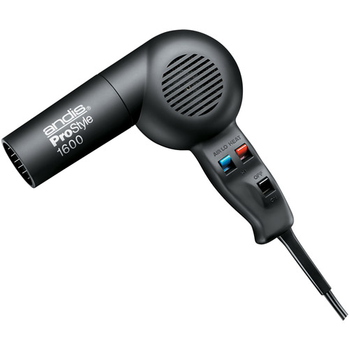 Andis Pro Style 1600 Hair Dryer, Black