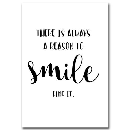 Asewin Unframed Quote Modern Art Canvas Posters Black&White Prints Picture Wall Art Decor Living Room Bedroom Home Decoration ()