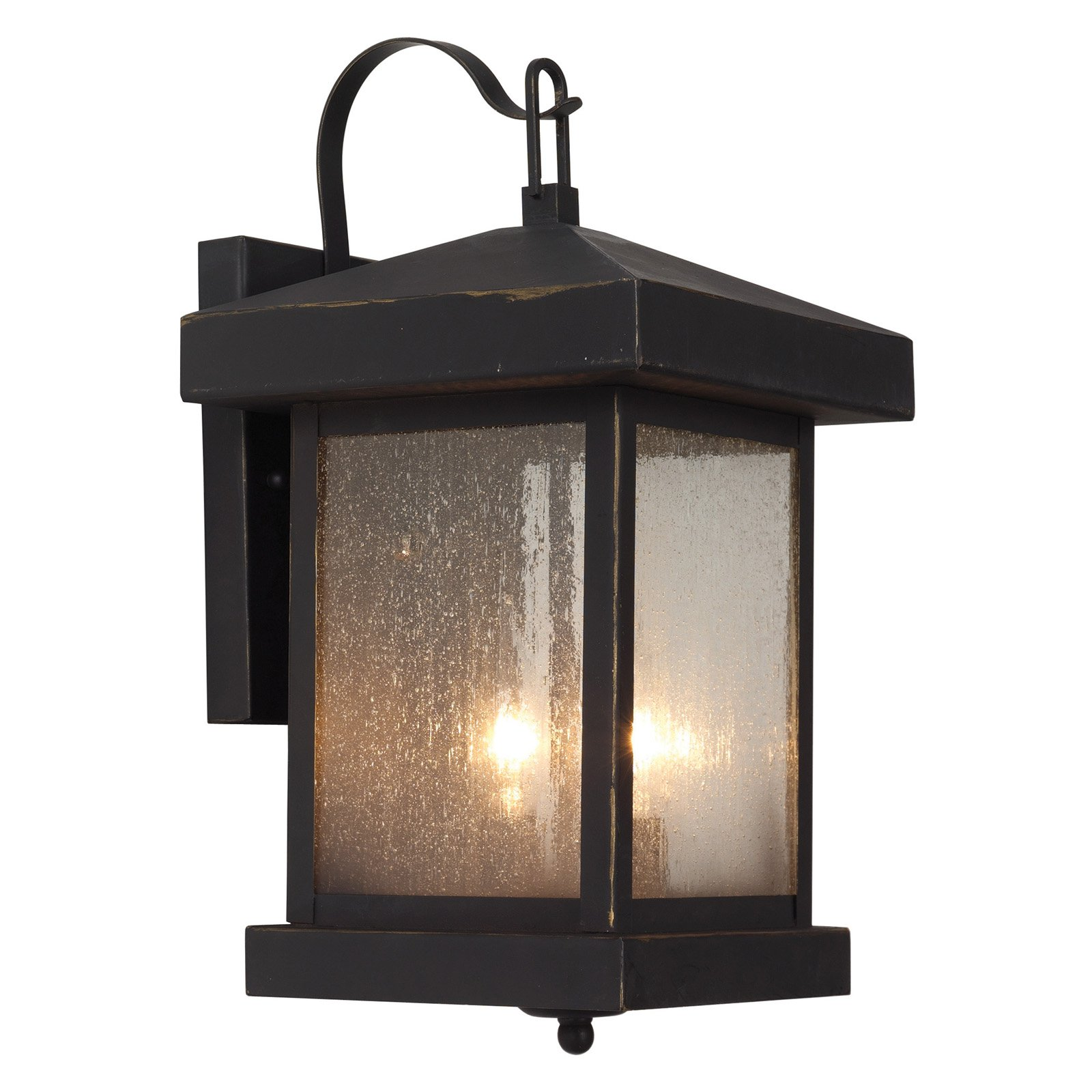 Trans Globe 45641 WB Coach Lantern - Weather Bronze - 8W in.