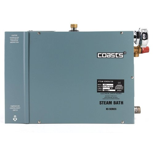 Coasts KSA60 Steam Generator for Home or Business Steam Saunas, 6KW, 240V with KS-200A Controller