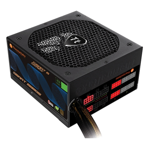 Thermaltake Smart 850W 80+ Bronze Modular 12V ATX Computer Desktop PC Modular Power Supply - SP-850MPCBUS