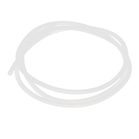 2mm x 4mm Translucent Silicone Tube Repalcing Hose Pipe 1M Long