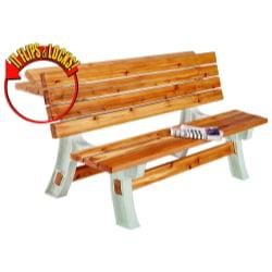 Hopkins - F3 Brands 90110 Flip-Top Outdoor Bench