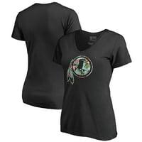 b4cc8f066 Product Image Washington Redskins NFL Pro Line by Fanatics Branded Women s  Lovely V-Neck T-Shirt