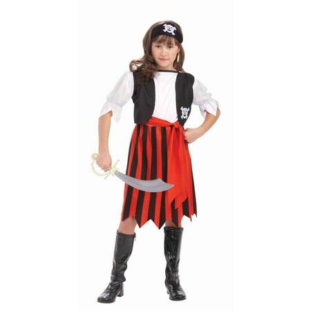 Pirate Lass Child Costume