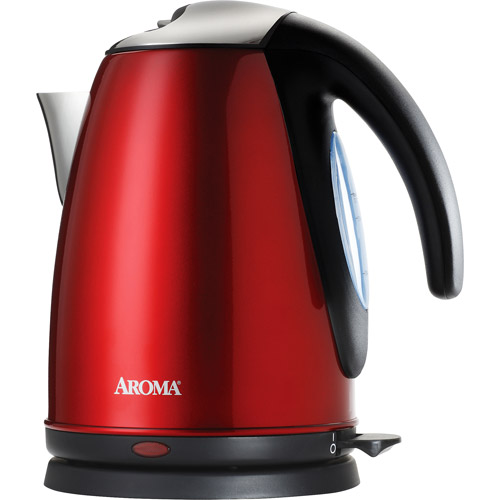 Aroma 7-Cup Stainless Steel Electric Kettle