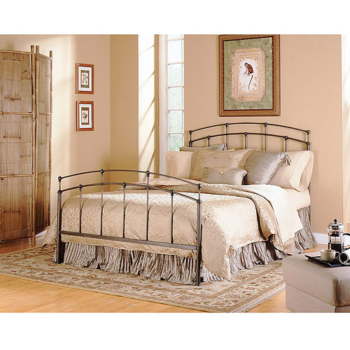 Fenton King Bed, Black Walnut