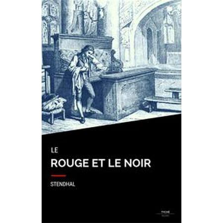 Le Rouge Et Le Noir - eBook