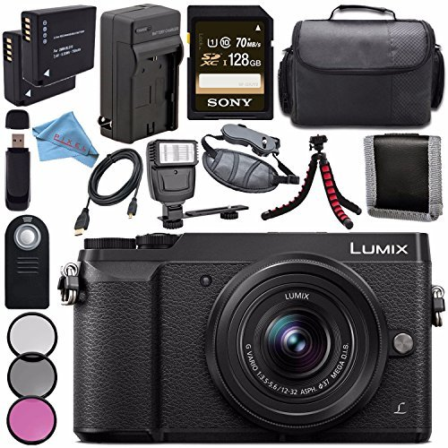 Panasonic Lumix DMC-GX85 DMCGX85 Digital Camera with 12-3...