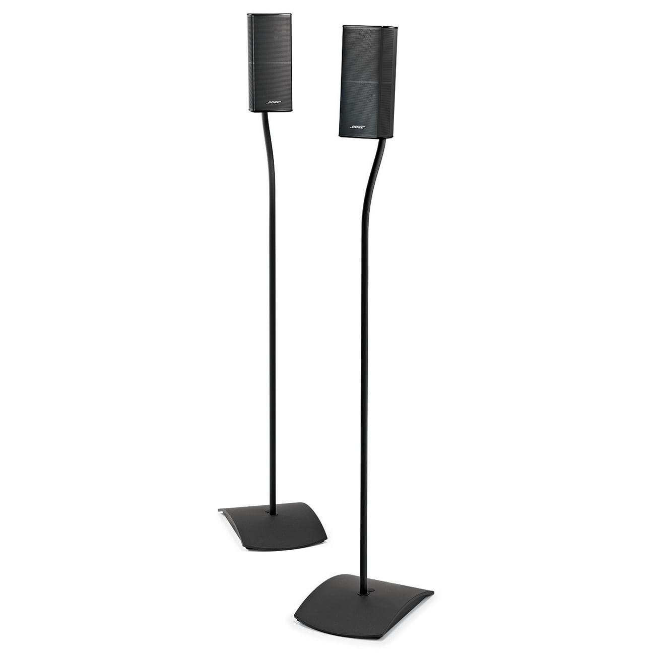 Bose UFS-20 Series II Universal  Floor Stands Pair - Black