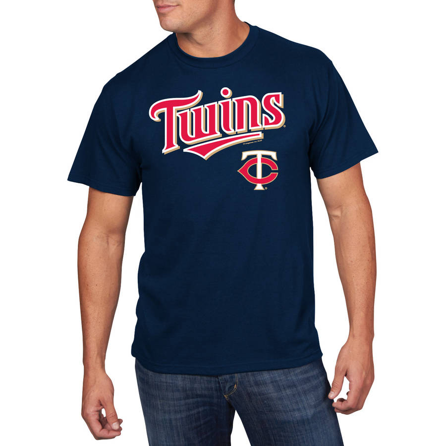 MLB - Mens Minnesota Twins Short Sleeve Team Tee