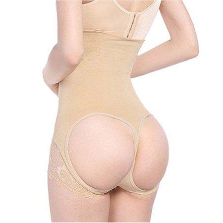 cbad482e237d Lelinta - LELINTA Women's Seamless Butt Lifter Tight Panty Shapewear Lace  High Waist Slim Waistline Body Shaper - Walmart.com