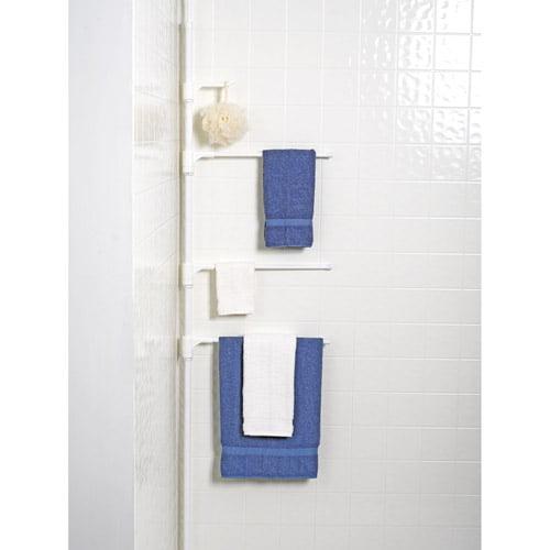 Zenith Towel Caddy, White Finish