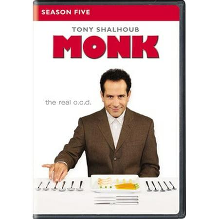 Monk: Season Five (DVD) (Hayley Williams Necklace)
