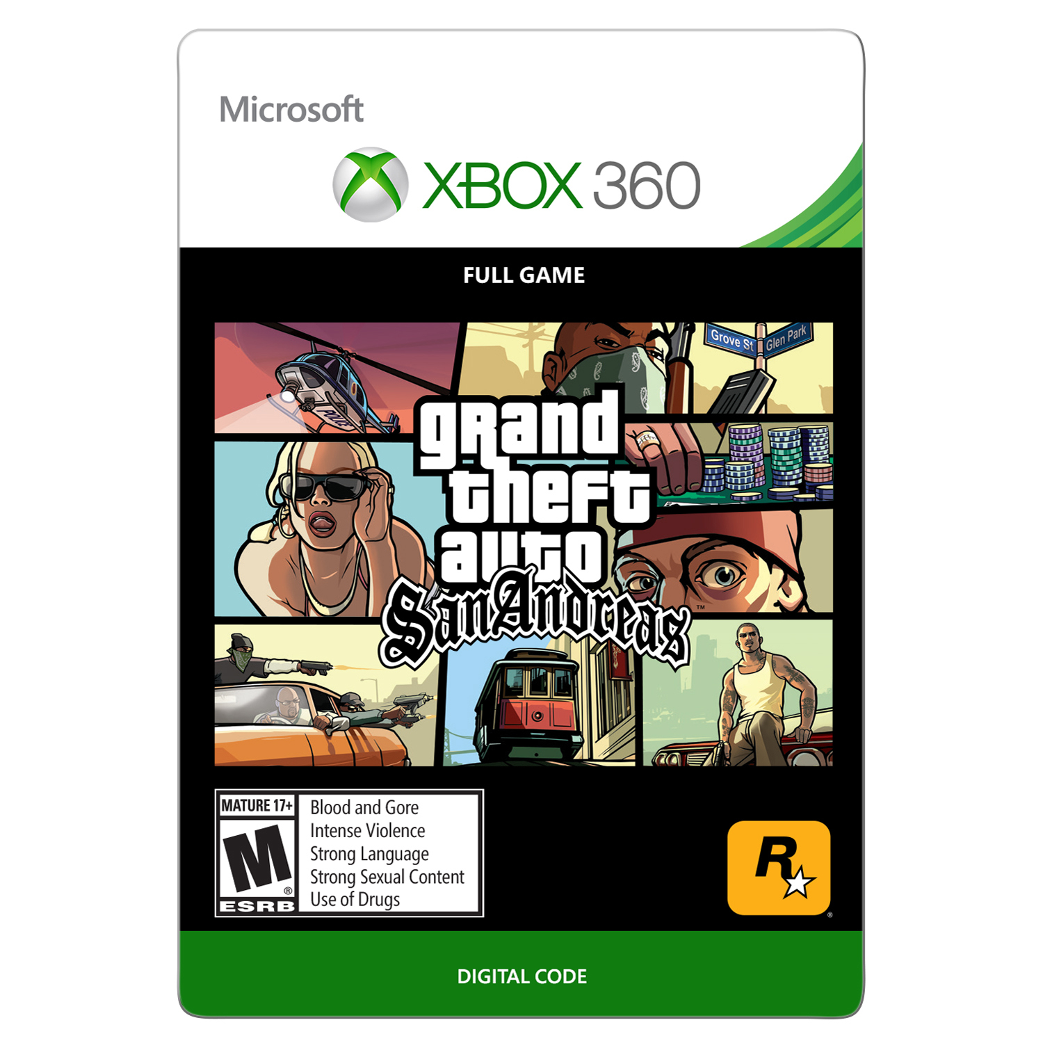 Xbox 360 Grand Theft Auto: San Andreas (Email Delivery)